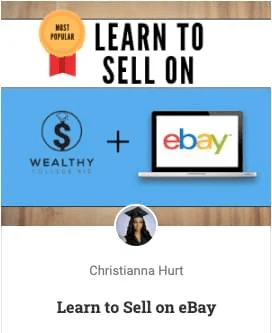 Learn to Sell on Ebay